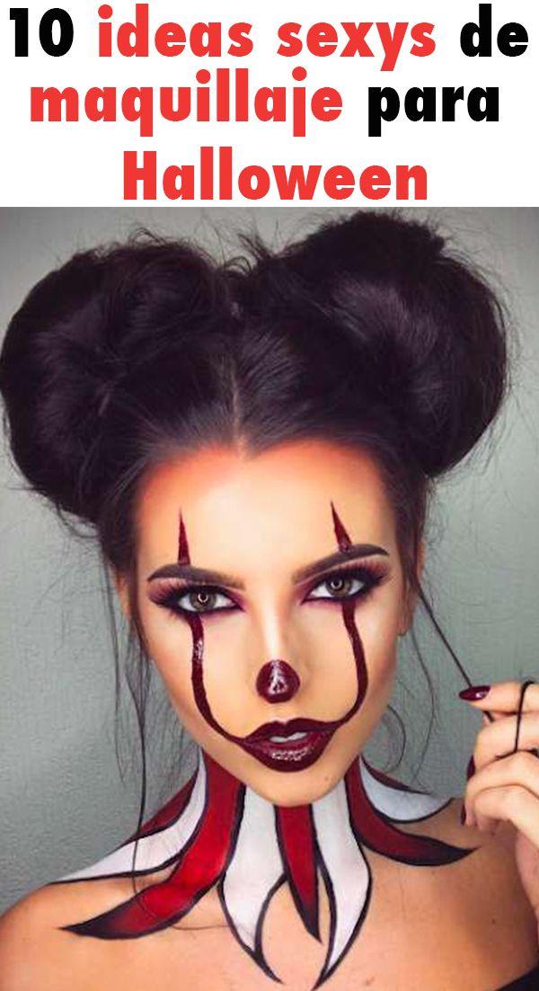 Photo of 10 ideas sexys de maquillaje para Halloween