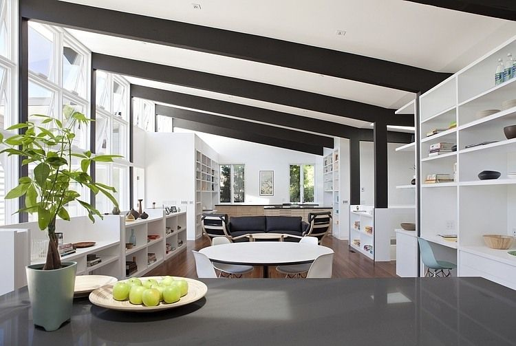 Net Zero Energy House By Klopf Architecture Homeadore Zero Energy House Minimalist House Design House Design