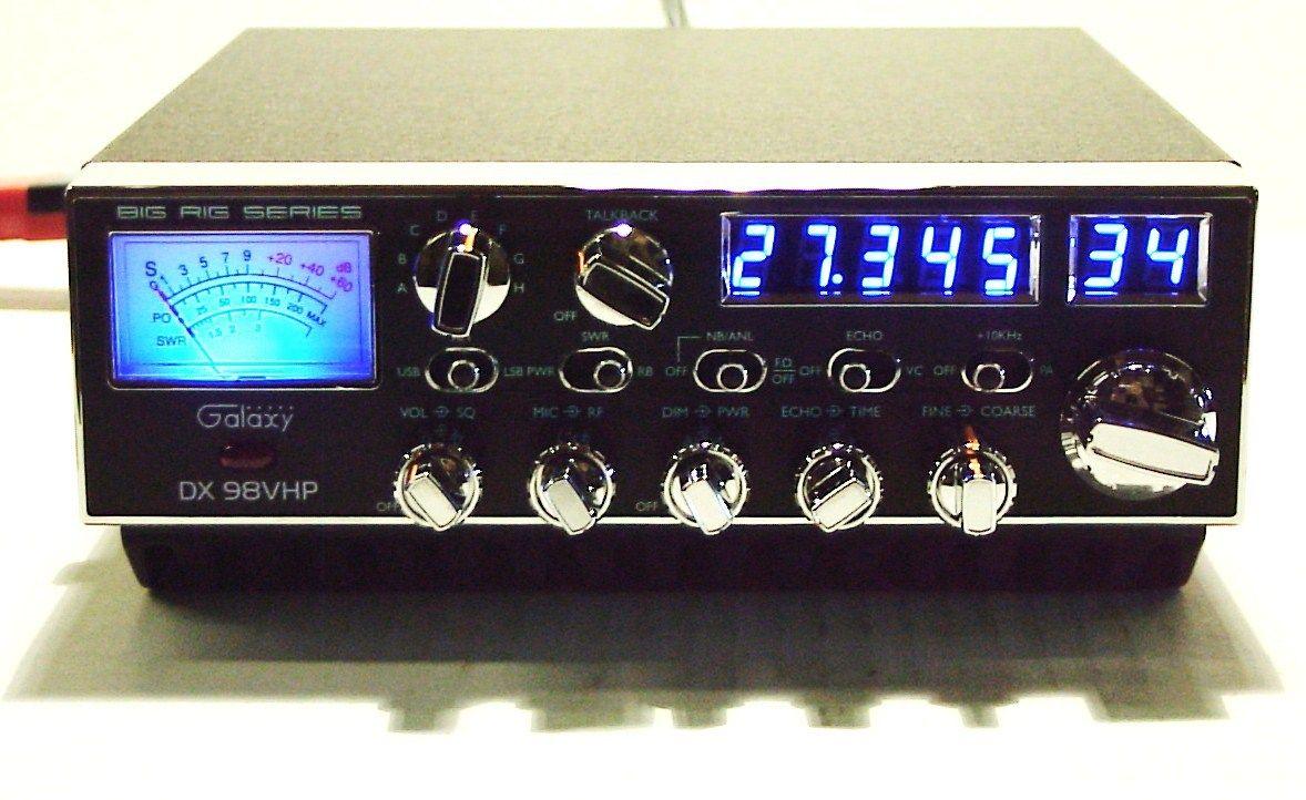Galaxy DX98vhp Citizens band radio, Amp, Software