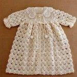 Beautiful Crochet Dress Pattern For Babies