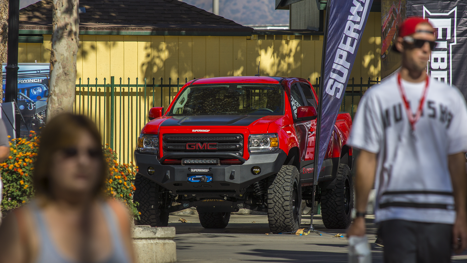 Shot Of Our Gmc Canyon Build At The Pomona Off Road Expo In