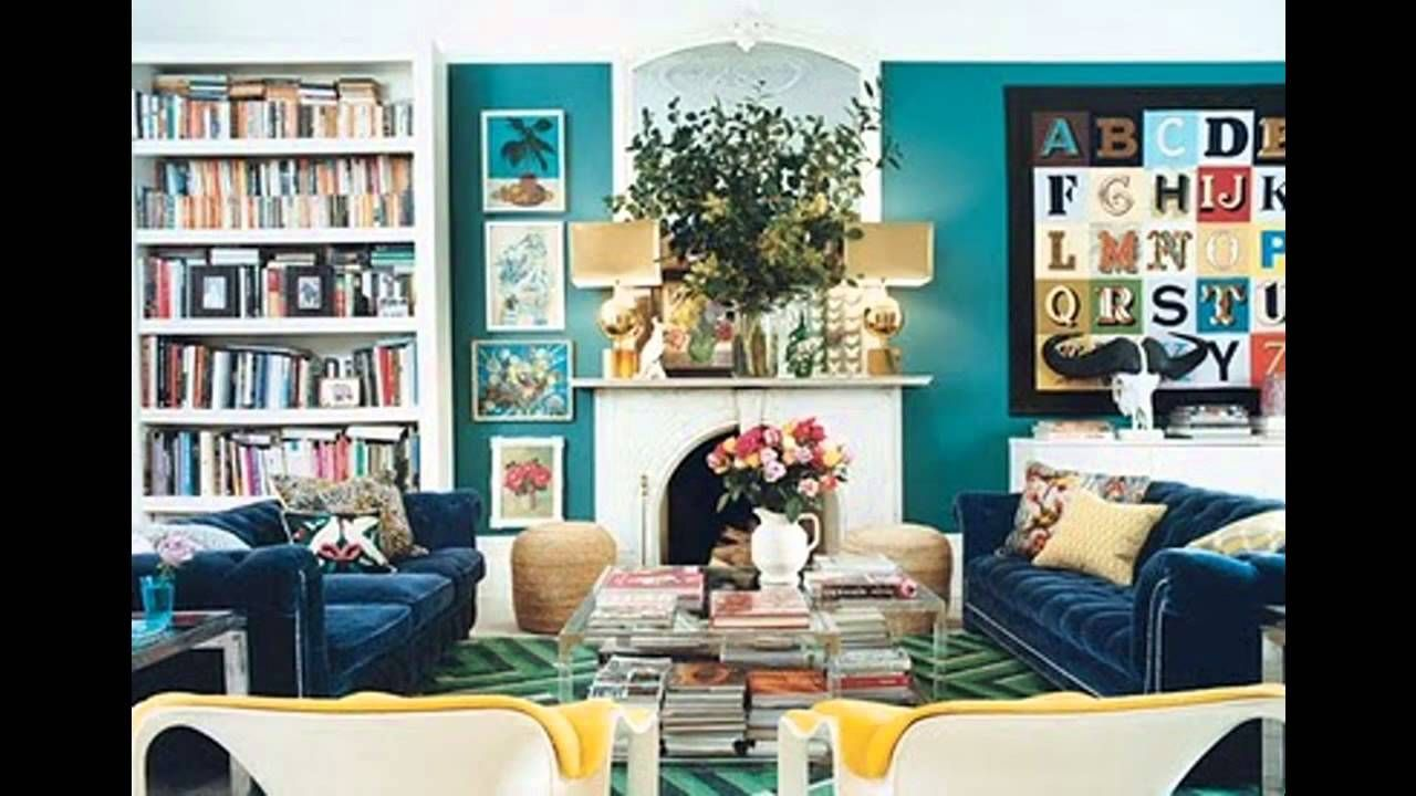 There is so much right here- the yellow chairs (the sofas ...