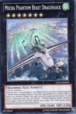 Ltgy En053 Mecha Phantom Beast Dracossack Secret Rare With Images