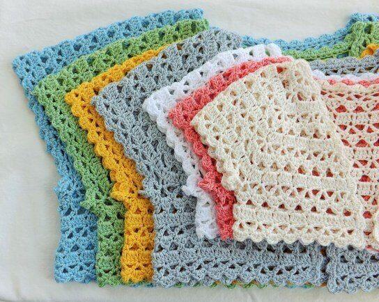 Punto muy fácil para aplicar a boleros en crochet | Bolero en croché ...