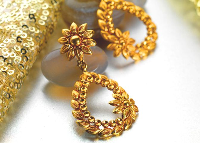 Exclusive Gold Jewellery Designs Tops