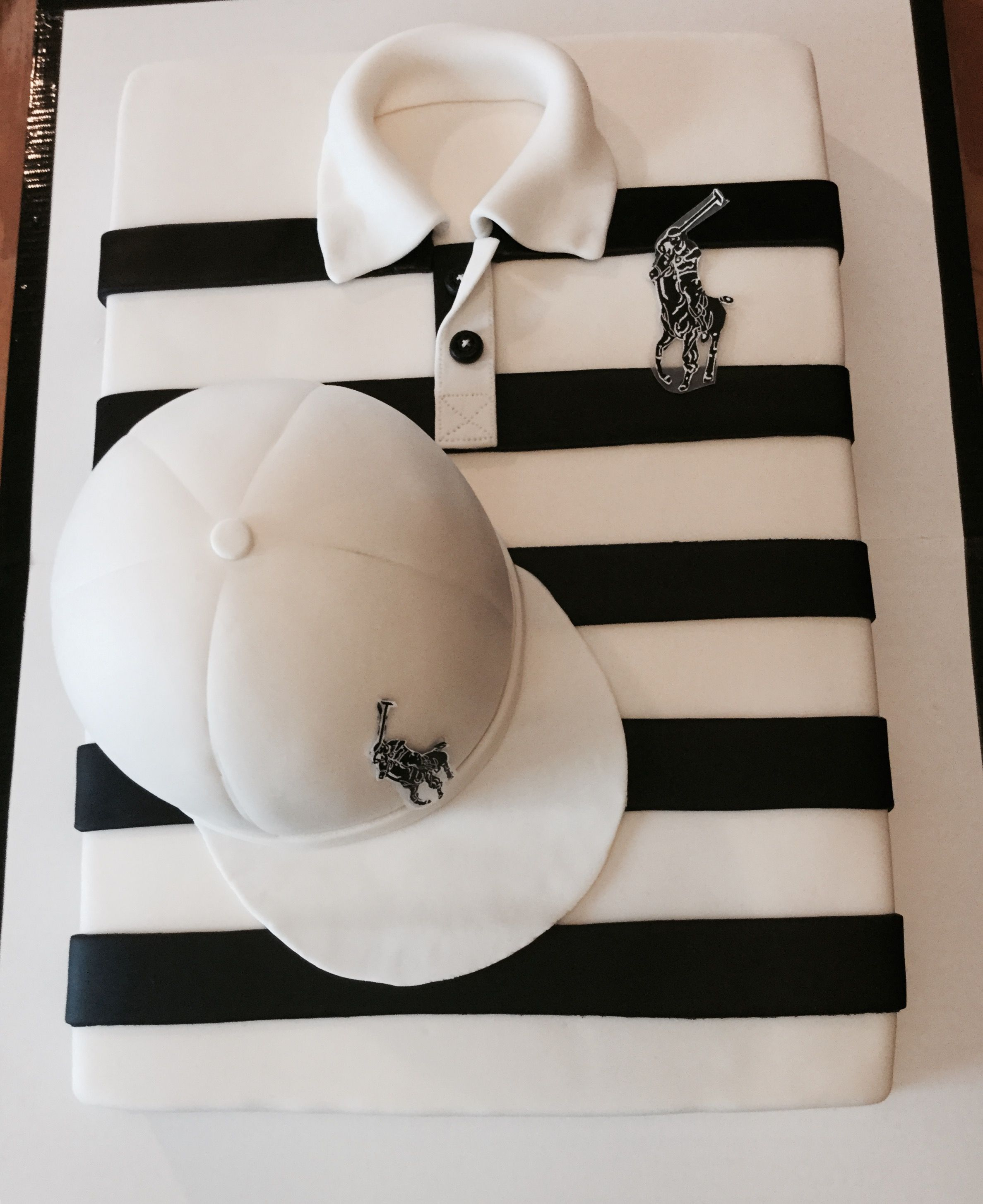 Ralph Lauren Polo shirt birthday cake Custom Cakes by Cake