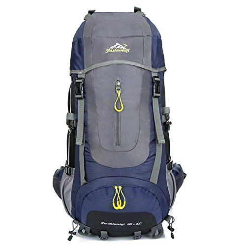 d92dcd30e638 70L Internal Frame Backpack Holidayli Hiking Backpack Waterproof Trekking  Bag Travel Backpack for Sport Climbing Camping Mountaineering Cycling  Skiing Dark ...