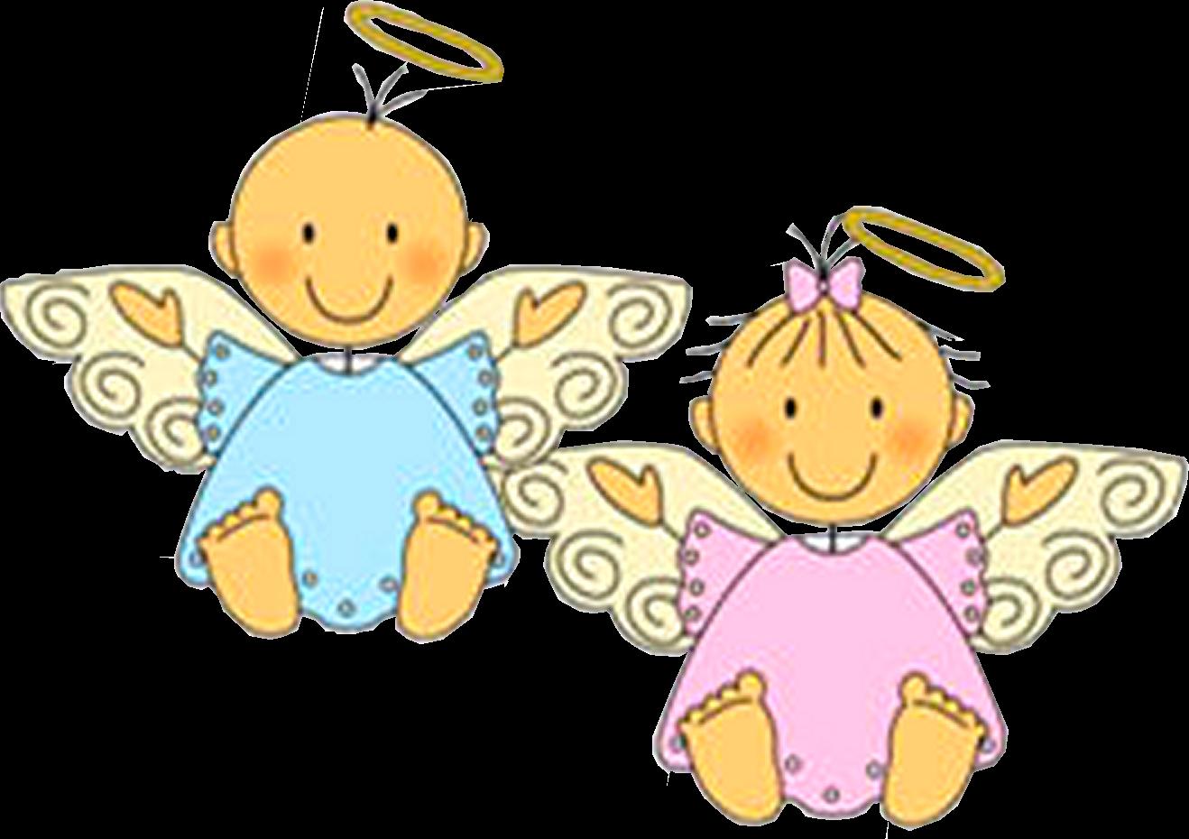 Dibujos A Color Angelitos Angeli