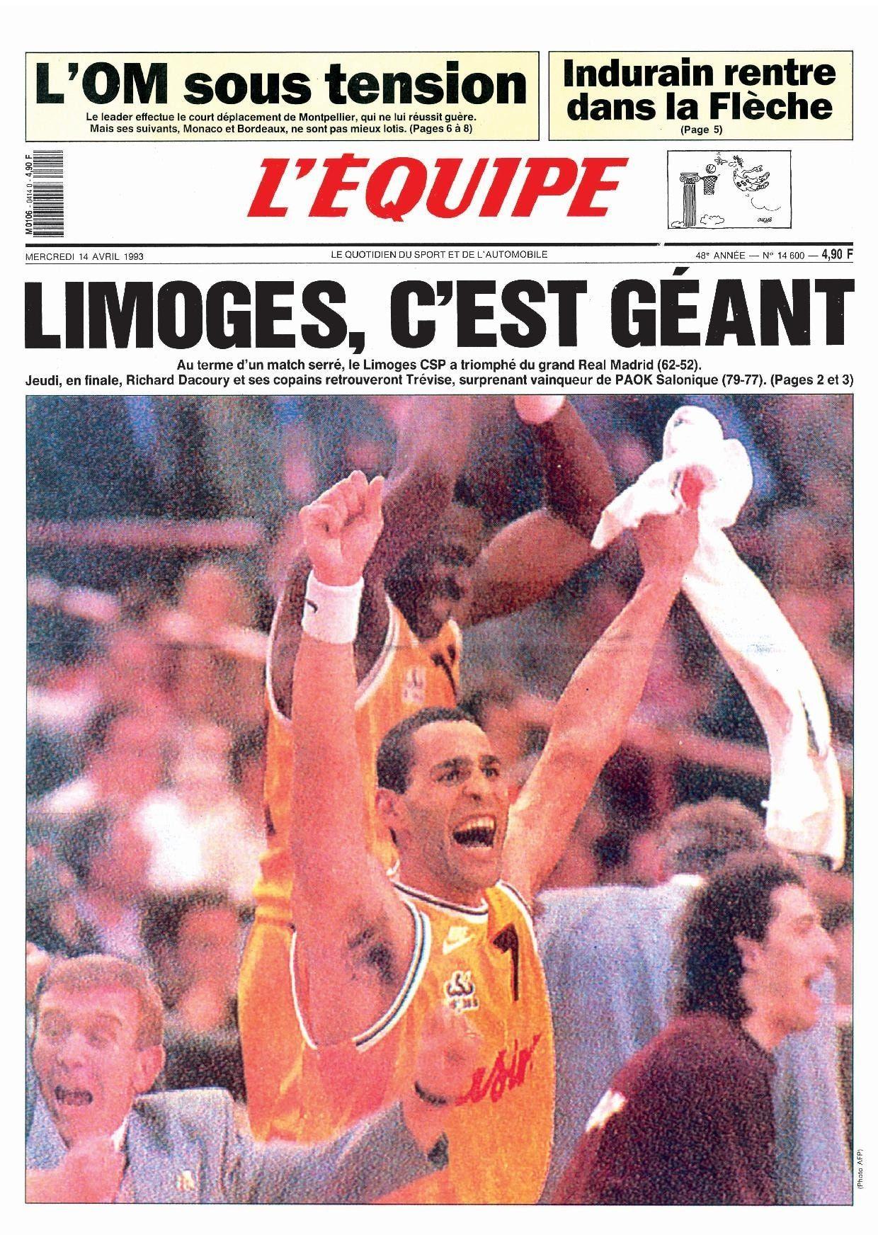 Ligue des champions de basket 1993 : \