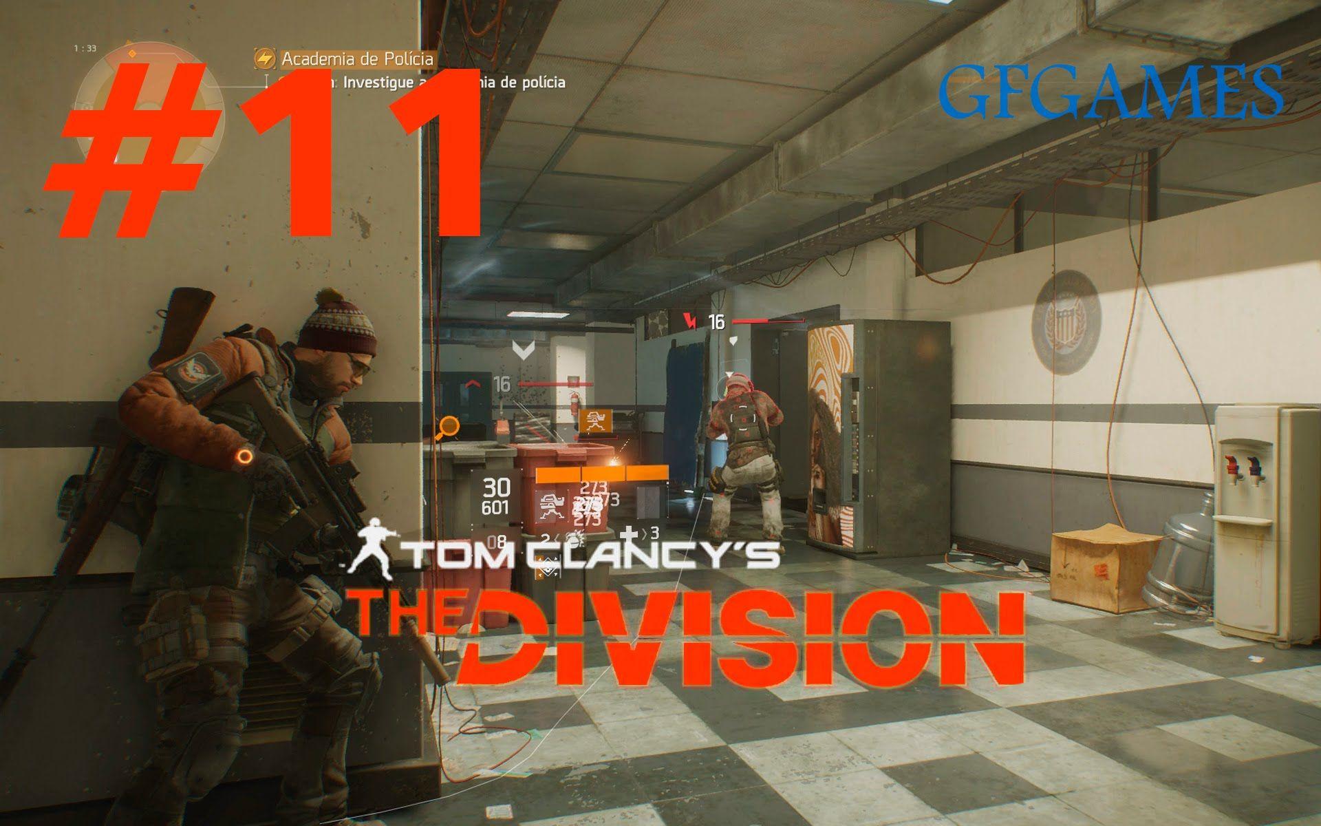 The Division #11 - Academia de Polícia
