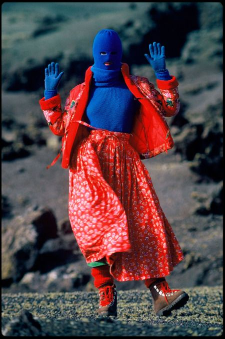 Love the hiking boot.   Depth of Field: Hans Feurer Explains His Greatest Fashion Images