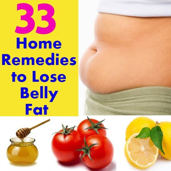 homeopathic remedies to lose belly fat
