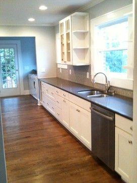Like The Little U0027knick Knacku0027 Shelves   White Kitchen Cabinets | Shaker  Cabinets