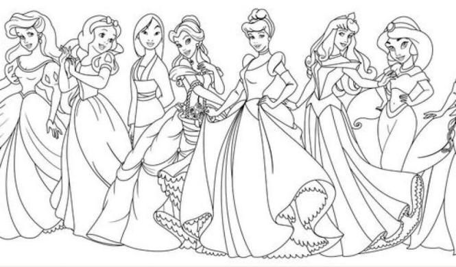 Free Disney Princess Colouring Pictures To Print Disney Princess Coloring Pages Princess Coloring Pages Disney Princess Colors