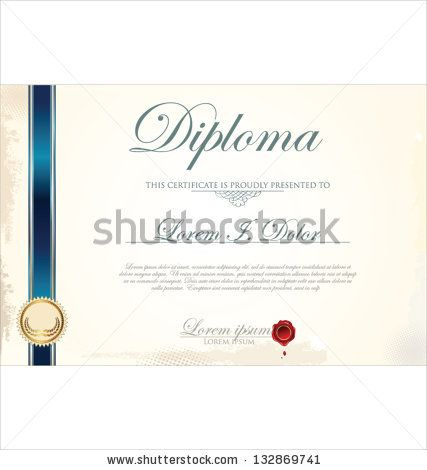 Captivating Modern Certificate Design Template   Google Search  Certificate Designs Templates