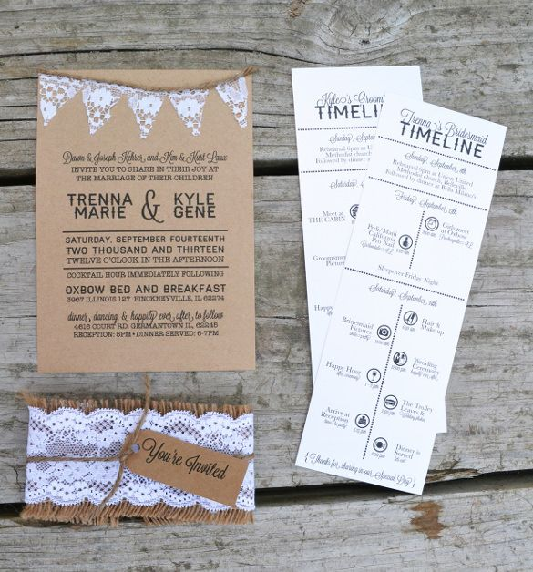 wedding itinerary template 11 free word pdf documents download