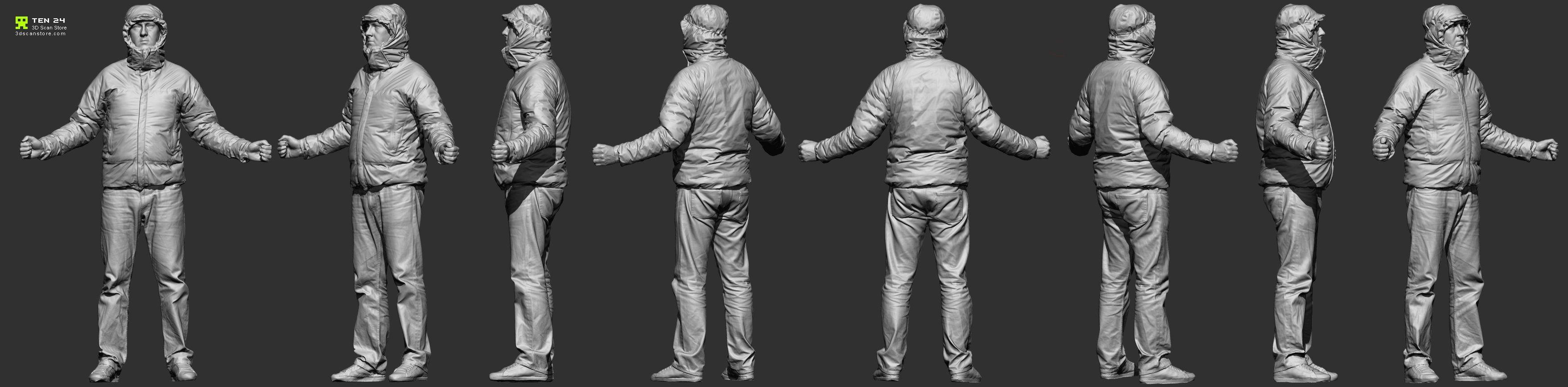 Full Body Scan 21.jpg (3516×868) | Anatomy: 3D Scans: Male | Pinterest