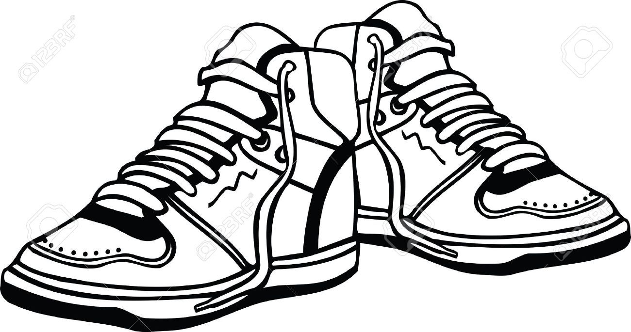 Stock Vector Sneakers, Sneakers fashion, Shoe clips