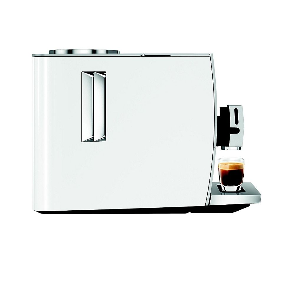 Jura Ena 8 Fully Automatic Coffee Machine In White