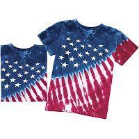 Making Art: Tie Dye American Flag T-Shirts