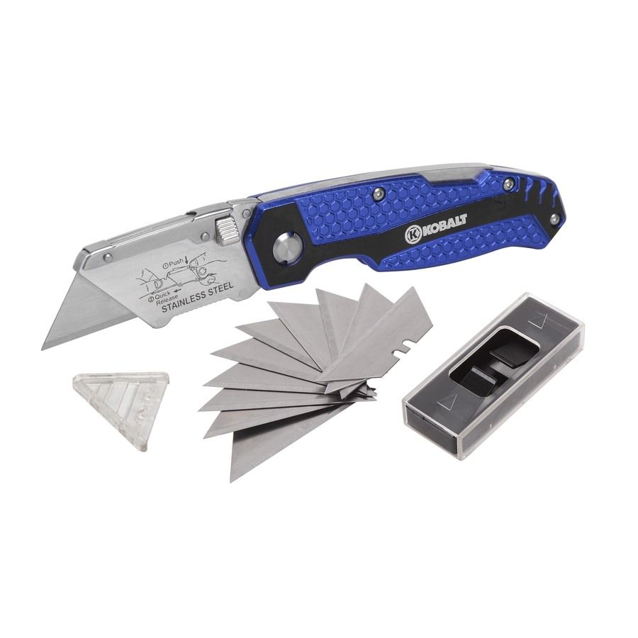 Kobalt 11 Blade Folding Utility Knife