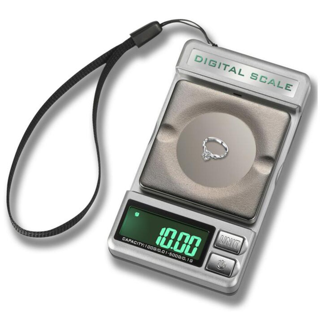 Big Sale LCD Display Electronic Digital Jewelry Pocket