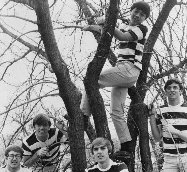 Five Bucks (from left Bruce Kerr, Chris Rose, Jerry Daller, Bauchman Tom and Steve Hearn)