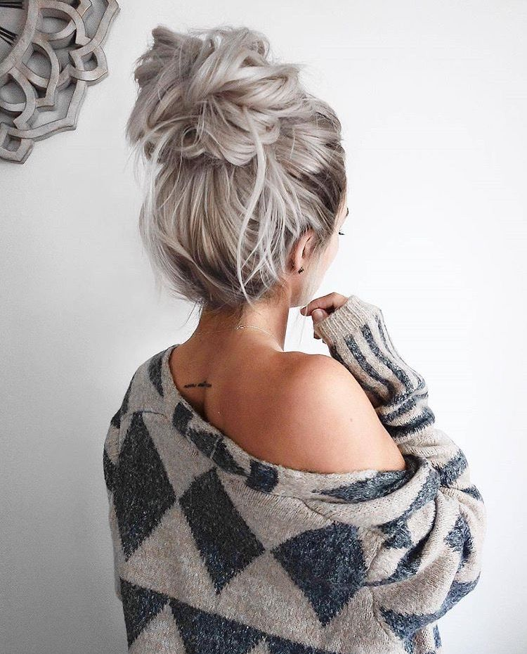 Super Cute Messy Bun