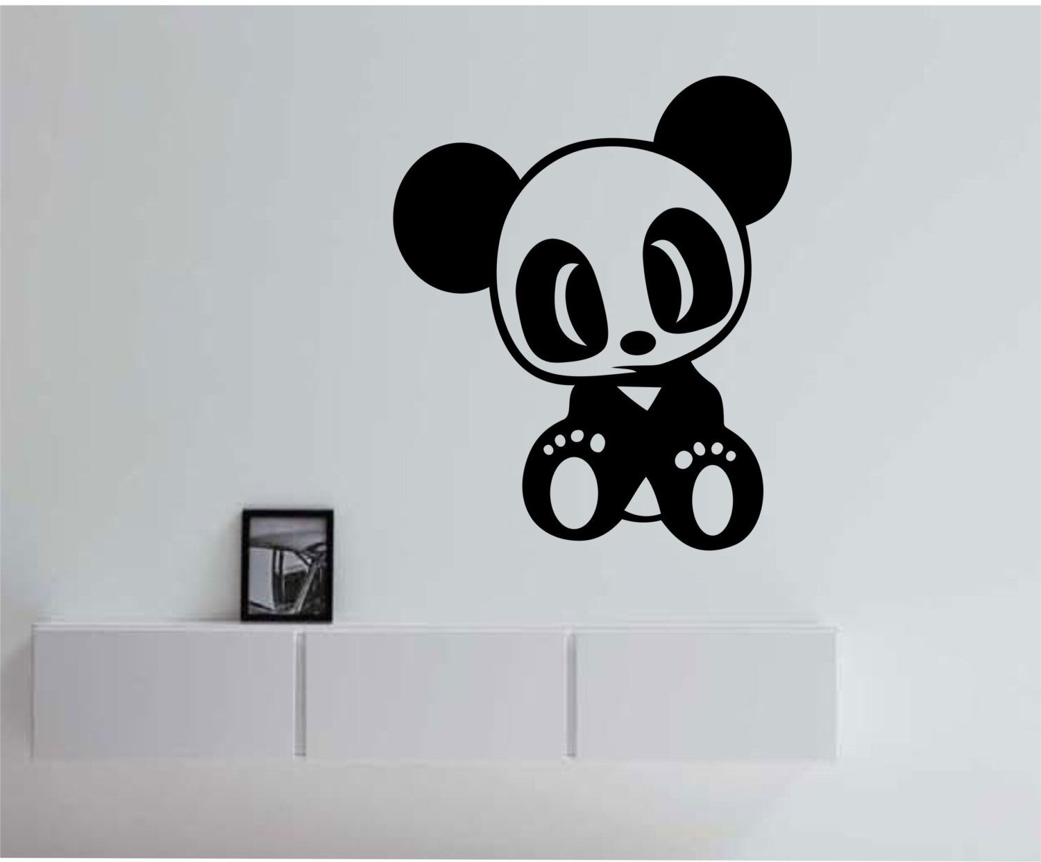 Baby Panda Japan Japanese Animal Vinyl Wall Decal Sticker Art Decor Bedroom Design Mural nature #babypandas