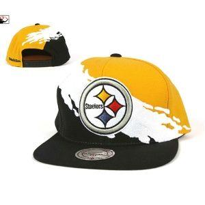 ba804311d Mitchell & Ness Pittsburgh Steelers Paintbrush Snapback Hat ...