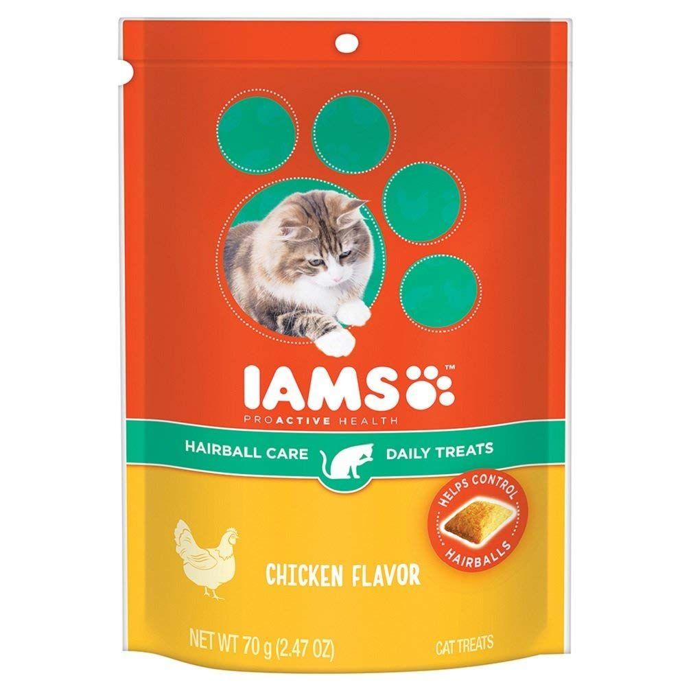 Iams proactive health daily cat treats for more