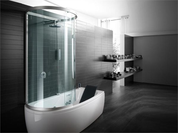 Showers For Small Spaces armonya bathtub with shower, perfect for small spaces | small