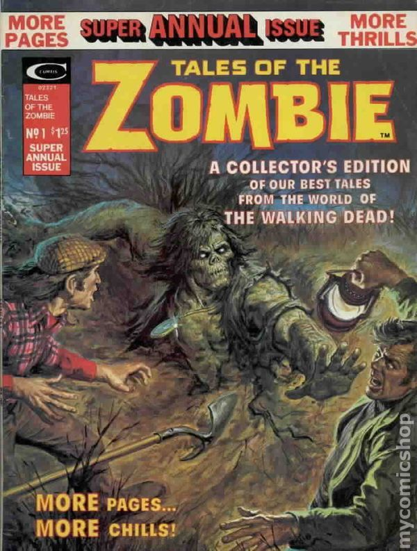 TALES OF THE ZOMBIE ANNUAL 1, BRONZE AGE MARVEL COMIC MAGAZINE