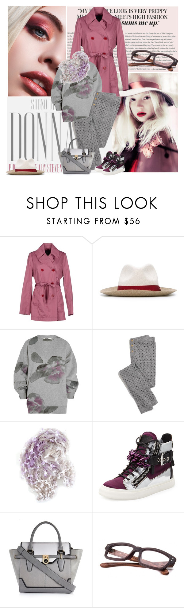 """DONNA"" by fashion-mariquita-camy ❤ liked on Polyvore featuring FAY, Lanvin, Acne Studios, Madewell, Yuh Okano, Giuseppe Zanotti and River Island"