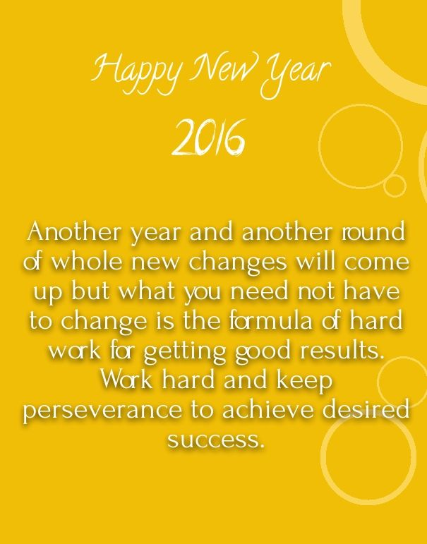 new year 2016 wishes for colleagues quotes | Happy New ...