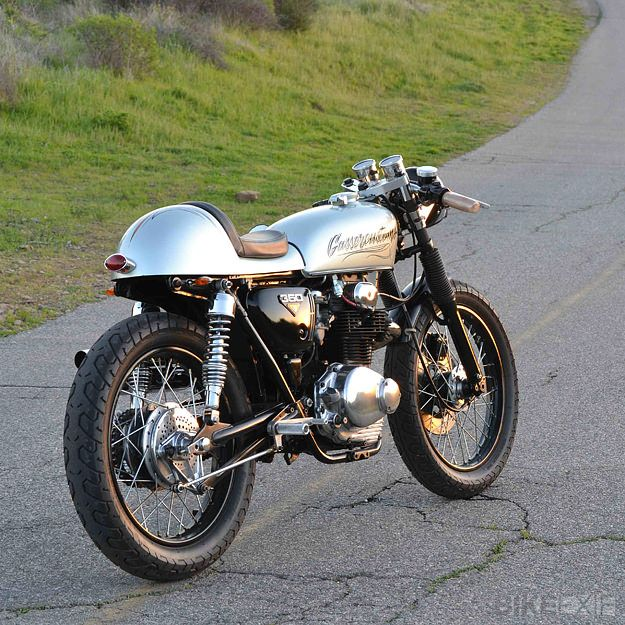 Cars Motorcycles That I Love: Honda CB350 Cafe Racer By Gasser Customs