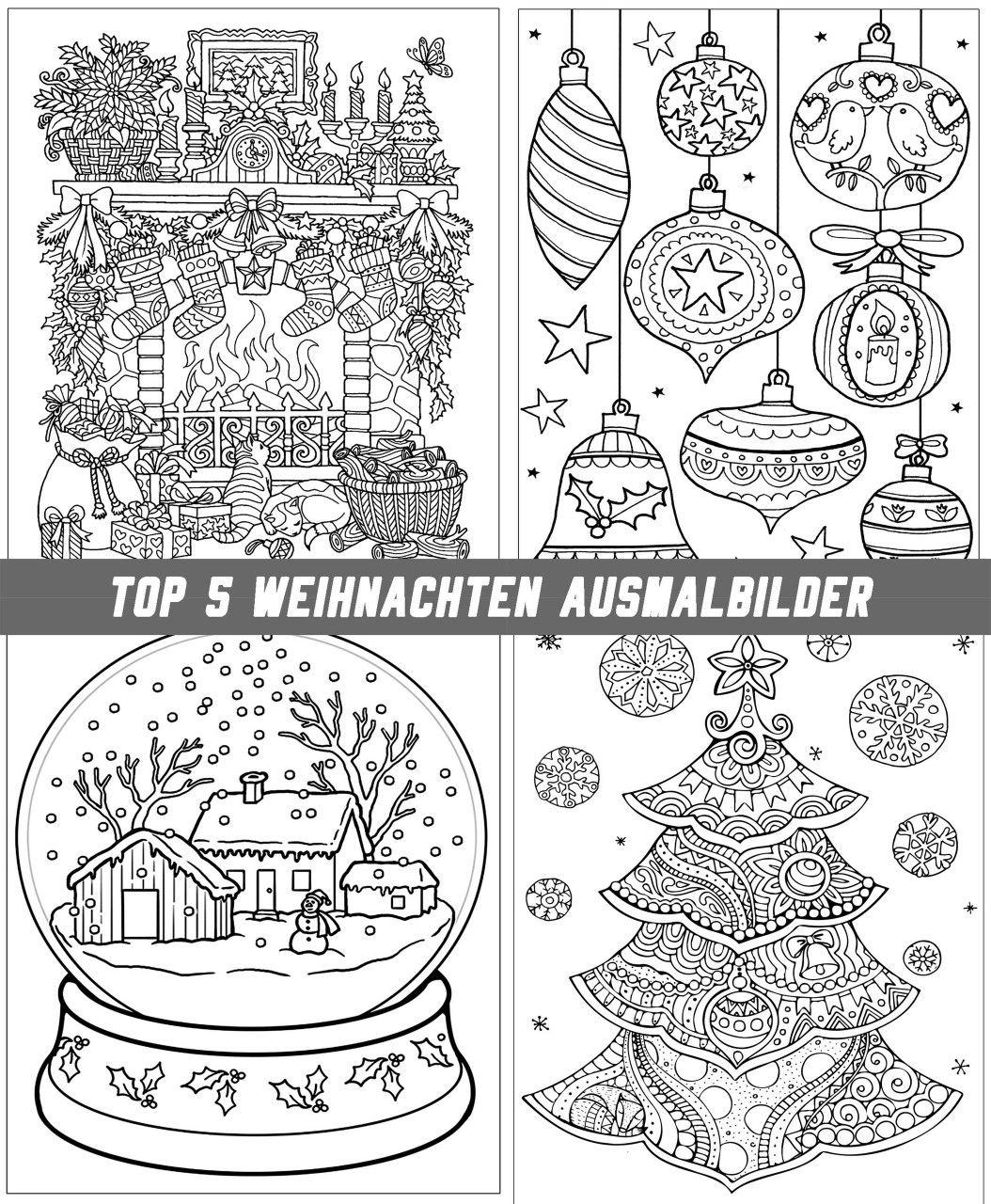top 5 weihnachten ausmalbilder für erwachsene  alll