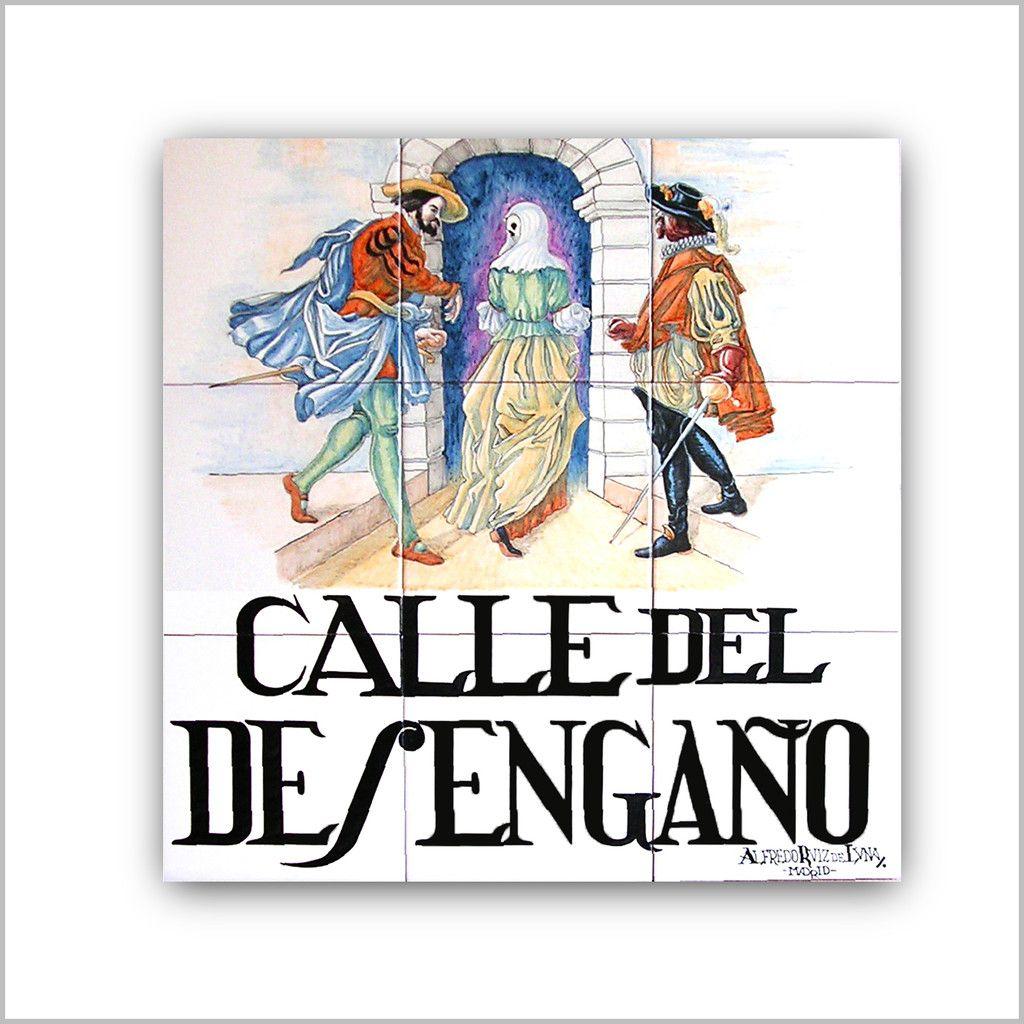 Azulejo calle del desenga o las calles del viejo madrid for Azulejos en zaragoza