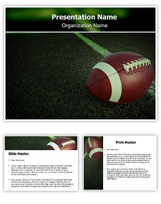 Make GreatLooking Powerpoint Presentation With Our Football Free
