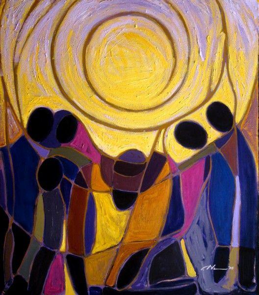 Sun Warms the Freemen Joseph Holston   American art, Art for