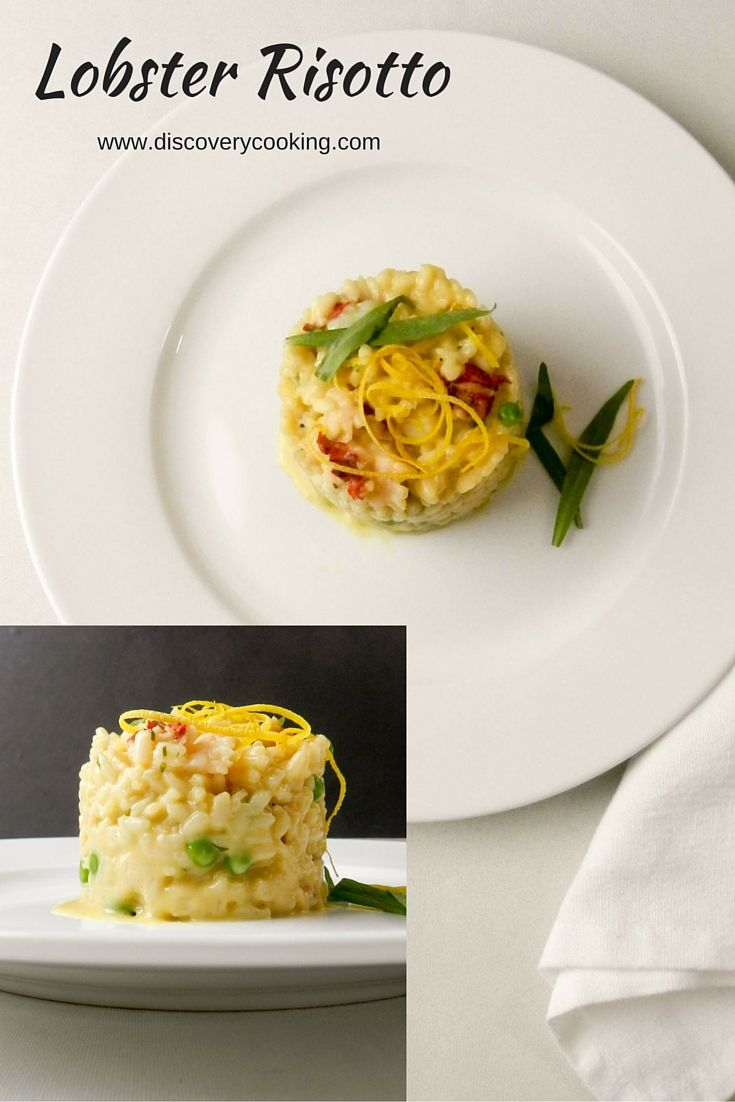 Creamy Lobster Risotto | Recipe | Lobsters, Lobster risotto and The o ...