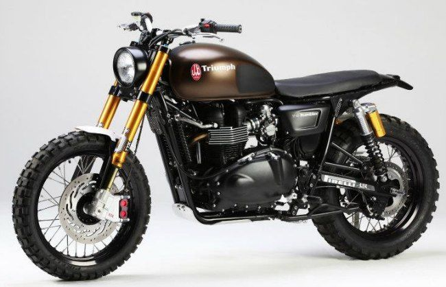 triumph scrambler the rumbler by lsl jvb harley. Black Bedroom Furniture Sets. Home Design Ideas
