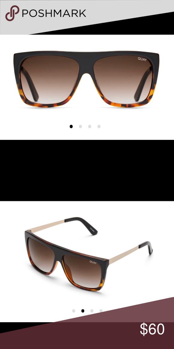 5248cb9fd3 Brown fade Quay sunglasses NWT Brown fade Quay sunglasses NWT New in box Quay  Australia Accessories Sunglasses