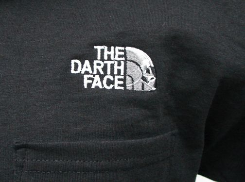 9cc691db The Darth Face Polo Shirt | Star Wars Parody T-Shirts | Embroidered ...