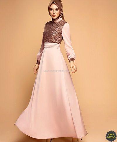 Armine Tesettur Elbise Elbise Moda Stilleri The Dress