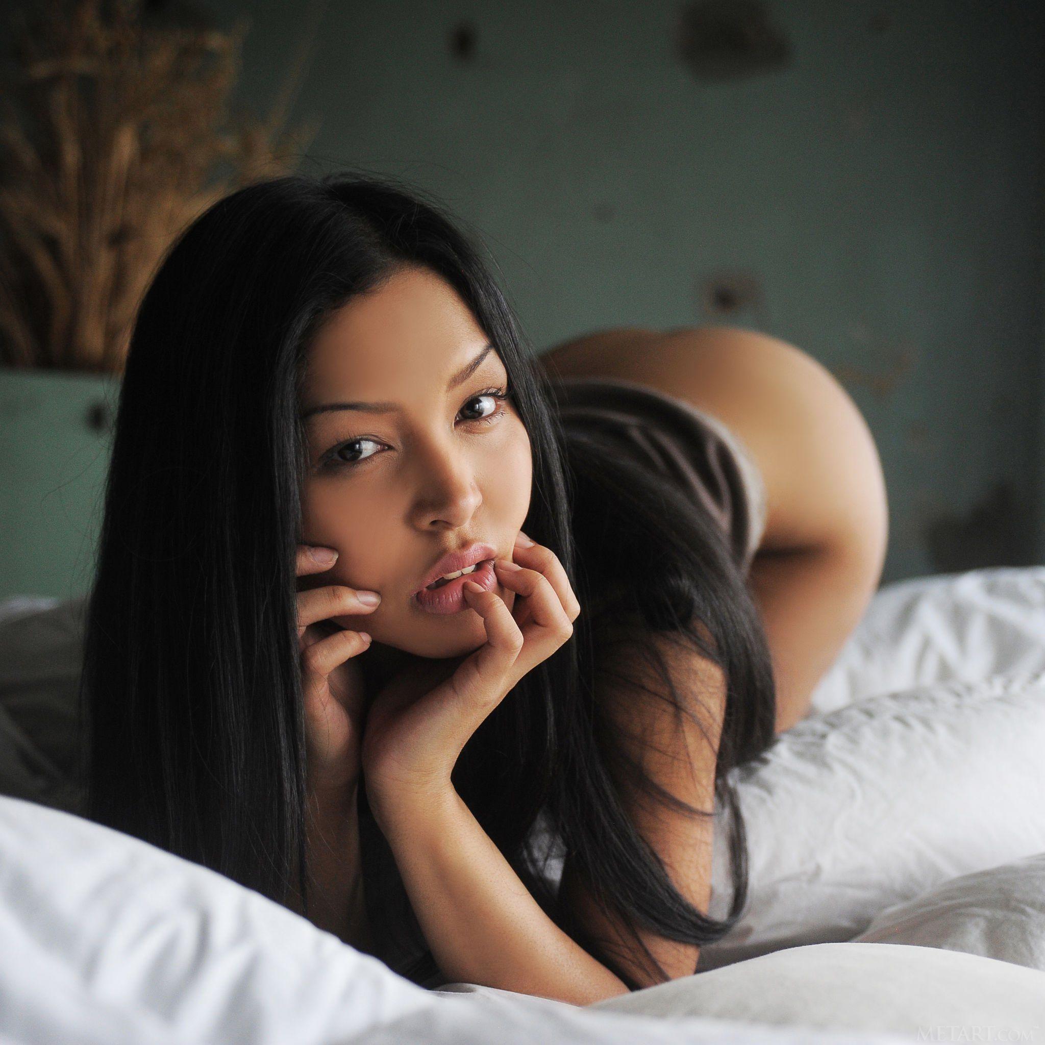asiatische schonheit modell