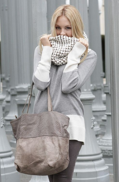 great colors, love the scarf