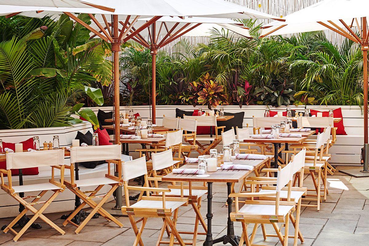 Dining Nightlife Nyc Soho Grand Hotel Soho Grand Hotel Outdoor Restaurant Soho Grand