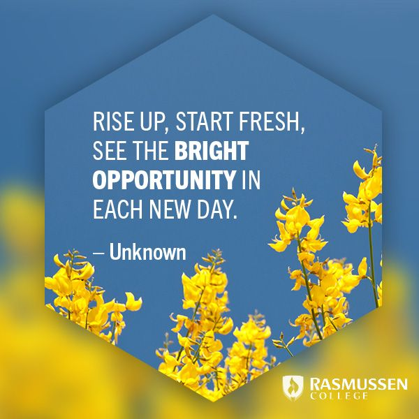 Motivational Quote Rise Up Start Fresh See The Bright