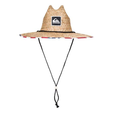 Quiksilver Outsider Straw Hat - Merican Stripe  2bfba88080f